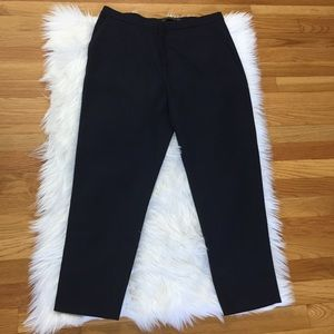 Zara Trafaluc Collections Navy Blue Ankle Pants